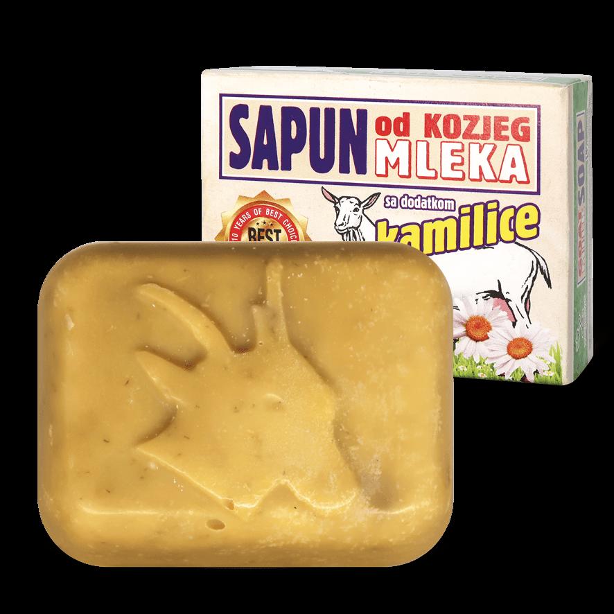 Натурален сапун от Козе мляко и Лайка